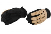 Emerson Full Finger Gloves (Tan/XS/S/M/L/XL)