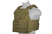 Lancer Tactical Plate Carrier Modular Plate Carrier (OD Green)