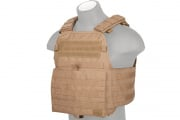 Lancer Tactical Modular Plate Carrier (Tan)