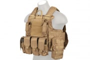 Lancer Tactical Strike Plate Carrier (Coyote)