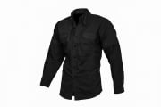 Lancer Tactical Long Sleeve Shirt (Black/XXL)