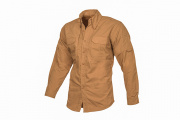 Lancer Tactical Long Sleeve Shirt (Coyote/XXL)