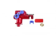 Lancer Tactical CNC Aluminum Hop Up Unit for M4/M16 AEG by SHS (Red)