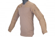 Emerson TL LEAF Combat Shirt By Lancer Tactical ( Tan / LG )