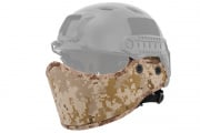 Lancer Tactical Helmet Face Armour (Desert Digital)