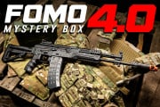 FOMO Mystery Box 4.0 Ft. Airsoft Rifle, Pistols, & More (120 Available)