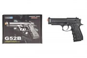 UK Arms G52B M9 Spring Pistol Airsoft Gun (Black)