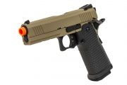 JAG Arms 4.3 GM4 Gen. 2 Gas Blow Back Airsoft Pistol (Tan/Black)