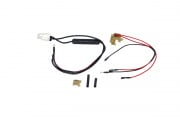 JG Standard Tamiya Battery Wiring Kit for M16 (Rear Wired)
