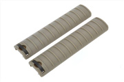 LCT 15-Slot Handguard RIS Rail Cover Panels Set of 2 (Tan)