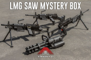 Airsoft GI 15th Anniversary LMG SAW Mystery Box - ft. Microgun, & LVOA-C
