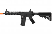 "Lancer Tactical LT14C M4 10"" Keymod Carbine AEG Airsoft Rifle (Black)"