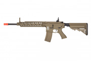 Lancer Tactical LT-26T SR-16 Carbine AEG Airsoft Gun (Flat Dark Earth)