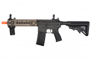 Lancer Tactical SMR Black Jack MK4 M4 CQB Carbine AEG Airsoft Gun OEM by Dytac (Dark Earth)