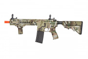 Lancer Tactical SMR Black Jack MK5 M4 CQB Carbine AEG Airsoft Gun OEM by Dytac (Camo)