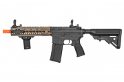 Lancer Tactical SMR Black Jack MK5 M4 CQB Carbine AEG Airsoft Gun OEM by Dytac (Dark Earth)