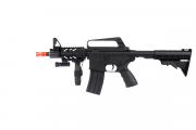 Well M4 Shorty RIS Spring Rifle Airsoft Gun with Flashlight & Laser