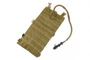 TMC Tactical EG Style 2 Liter Hydration Pouch w/ MOLLE (Tan)