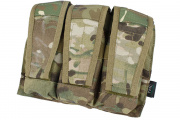TMC Advanced War Fighter Triple M4  Magazine Pouch (Camo)