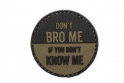 5ive Star Gear Don't Bro Me Morale PVC Patch