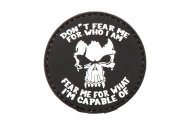 5ive Star Gear Don't Fear Me Morale PVC Patch