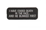 5ive Star Gear I Have Stared Death Morale PVC Patch