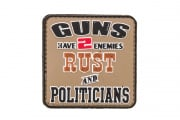 5ive Star Gear Rust And Politicians Morale PVC Patch
