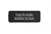 5ive Star Gear Forget The Mistake Morale PVC Patch