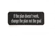 5ive Star Gear If The Plan Doesn't Work Morale PVC Patch