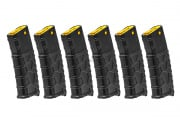 Classic Army M4 VMS 330 rds High Capacity AEG Magazine Box Set (Black/Yellow)