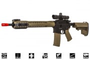 Black Rain Ordnance Fallout 15 Force Battle Rifle AEG Airsoft Gun by King Arms (Black/ Dark Earth)
