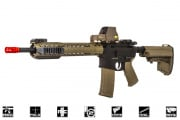 Black Rain Ordnance Fallout 15 Recon Battle Rifle AEG Airsoft Gun by King Arms (Black/Dark Earth)