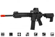 "Lancer Tactical M4 Advance Recon Carbine 16"" AEG Airsoft Gun (Black)"