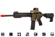 "Lancer Tactical M4 Advanced Recon Carbine 16"" AEG Airsoft Gun (Dark Earth)"