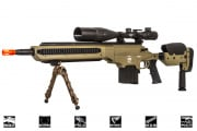 Lancer Tactical LTR338S Spring Sniper Rifle Airssoft Gun (Short/Tan)