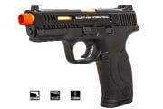Salient Arms/Smith & Wesson M&P 9 Pistol GBB Airsoft Gun (Black)