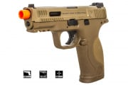 Salient Arms/Smith & Wesson M&P 9 Pistol GBB Airsoft Gun (Tan)
