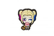 Aprilla Design Harley Quinn PVC Patch