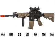 Valken Battle Machine TTC AEG Airsoft Gun (Black/Tan)