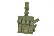 Classic Army Quad MP5 Thigh Magazine Rig (OD Green)