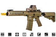 "Classic Army Delta M4 10"" Carbine AEG Airsoft Gun (Flat Dark Earth)"
