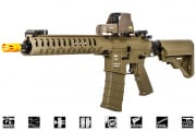 "Classic Army Delta M4 12"" Carbine AEG Airsoft Gun (Flat Dark Earth)"