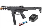 Classic Army Nemesis X9 AEG Airsoft SMG Lipo Package