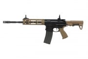 G&G Combat Machine CM16 E Raider L 2.0 Carbine AEG Airsoft Gun (Black/Tan)