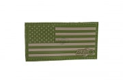 Airsoft GI Flag Patch (OD Green)