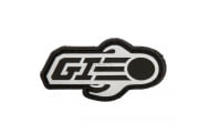 Airsoft GI Logo Tab Patch (Black)