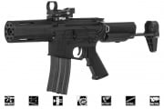 Krytac Full Metal Alpha M4 SDP AEG Airsoft Gun (Black)
