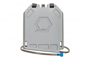 Qore Performance Iceplate Hydration/Cooling System w/ Standard Hose (Grey)