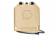 Qore Performance Iceplate Hydration/Cooling System w/ Standard Hose (Desert Tan)