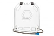 Qore Performance Iceplate Hydration/Cooling System w/ Standard Hose (White)